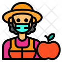 Nutritionist Friut Occupation Icon
