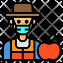 Nutritionist Friut Man Icon