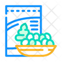 Nuts Bowl Nuts Snack Icon