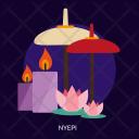 Nyepi Day Celebrations Icon