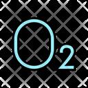 O Oxygen Color Icon
