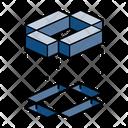 Alphabet Isometric Symbol Icon