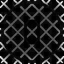 O Alphabet Sign Icon