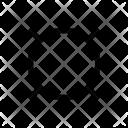 O Alphabet Symbol Icon