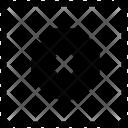 O Uppercase Latin Icon