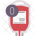 O Blood Group Icon