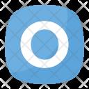 O Button Blood Icon