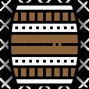 Oak Barrel Wood Icon