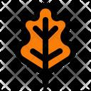 Thanksgiving Oak Leaf Leaf Icon