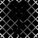 Oakleaf Hydrangea Stem Icon
