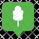 Oak Tree Forest Icon
