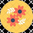 Oakleaf Hydrangea Flower Icon