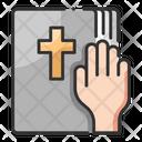 Oath Bible Oath Book Icon
