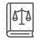 Law Book Justice Icon