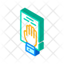 Oath Constitution Isometric Icon