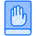 Oath Hand Book Icon
