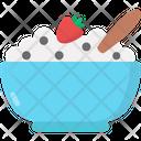 Oatmeal Oats Flakes Icon