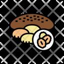 Oatmeal Baked Dessert Icon