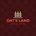 Oats Land Land Trademark Oats Insignia Icon