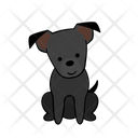 Obedient Happy Dog Icon