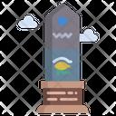 Obelisk Monument Bulding Icon