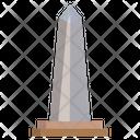 Obelisk Of Buenos Aires Buenos Landmark Icon