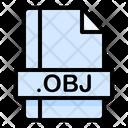 Obj File File Extension Icon