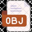 Obj Document File Icon