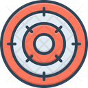 Objective Purpose Achievement Icon