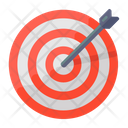 Objective Target Board Bullseye Icon