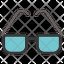 Obscure Glasses Glasses Man Icon