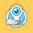 Observation Bulb View Icon