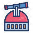Observatory Observation Monitoring Icon