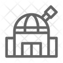 Observatory Astronomy Research Icon