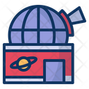Observatory Planetarium Universe Icon