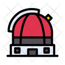 Observatory Satellite Astronomy Icon