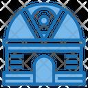 Observatory Aerospace Alien Icon