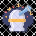 Observatory Planetarium Galaxy Icon