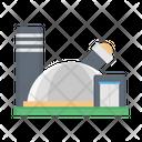 Observatory Planetarium Building Icon