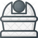 Observatory Astronomy Planetarium Icon