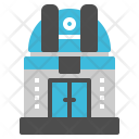 Observatory Astronomy Science Icon