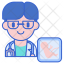 Obstetrician Doctor Male Icon