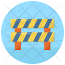 Barrier Barricade Barrier Sign Icon