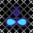 Occult Contour Concept Icon