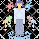 Occupational Stress Customer Eccentricity Job Pressure Icon