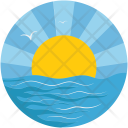 Ocean Cloudy Pronostic Icon