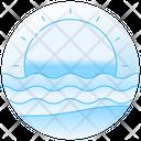Seaview Seaside Ocean Icon