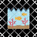 Ocean Undersea Fishs Icon