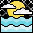 Ocean Holiday Vacation Icon