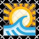 Sea Ocean Wave Icon